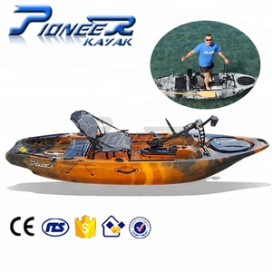 2018 Foot Powered Pedal Fishing Kayak with Pedals