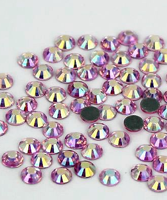 Flat Back Hotfix Rhinestones Lead Free Crystal Clear Oval Chessboard Iron On Crystal Stones Free Shipping