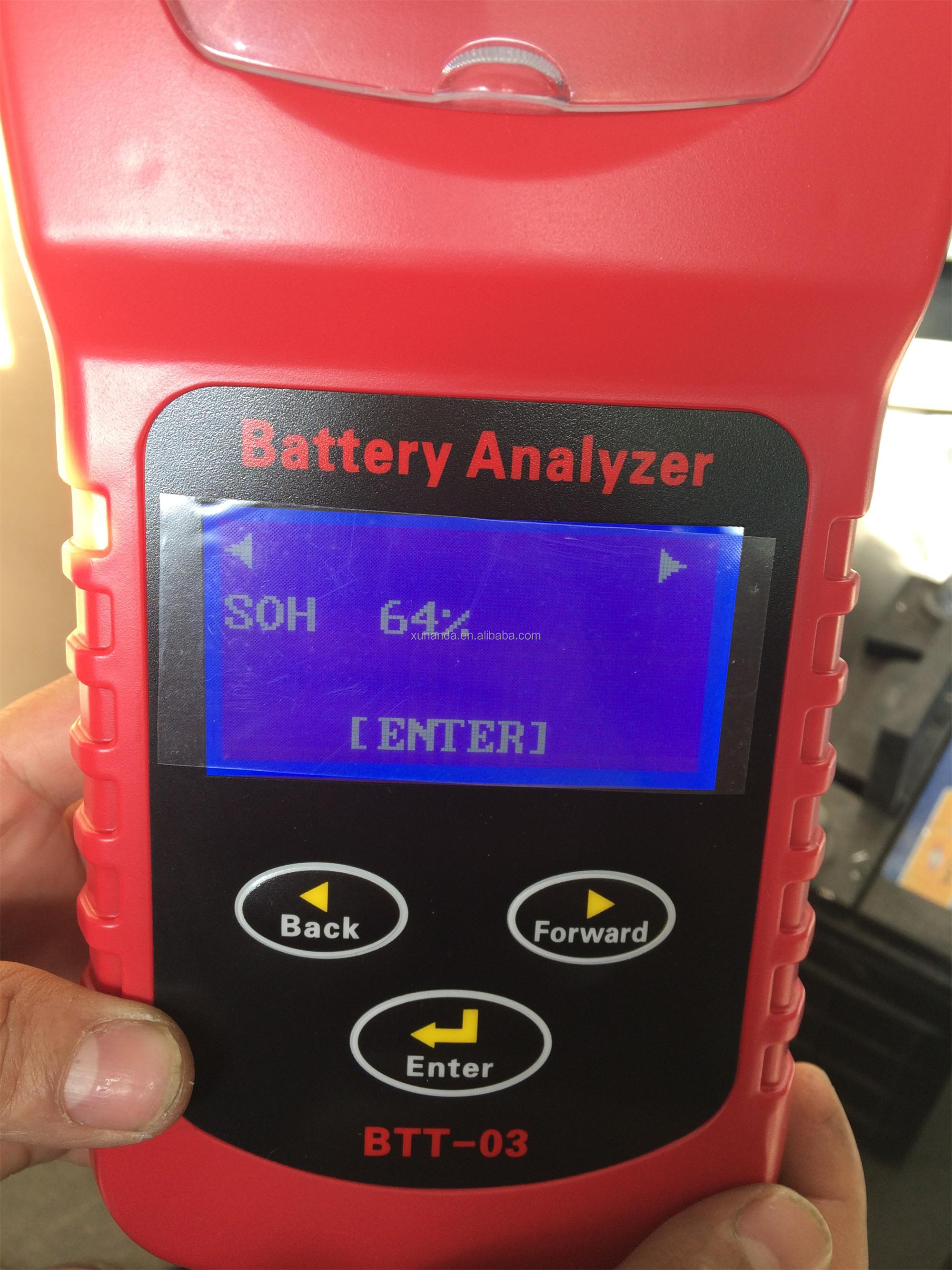 New GEL battery cca tester