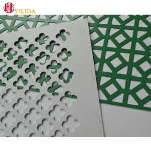Aluminum decorative perforated metal mesh
