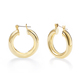 Wholesale Free Sample Fashion 14k Gold Filled Hoop Earrings For Women 2018