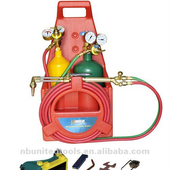 Portable American Gas Oxygen Acetylene Welding Cutting Torch Kit - Buy Gas  Torch Kit,Gas Cuting Welding Torch Kit,Portable Welding Cutting Kit Product