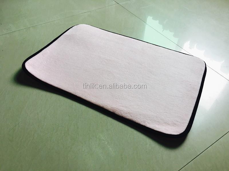Microfiber High Water Absorption Bath & Door Multi-Functional Non-slip Ground Mat