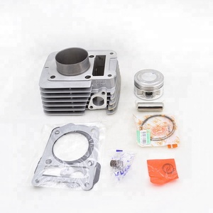High Quality 57 4mm Big Bore YBR150 Cylinder Block Kit For Modified  Motorcycle Engine Parts with Rings Pins Gaskets