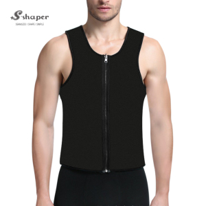 S-SHAPER Custom Men Fitness Wear Activewear Wholesale Neoprene Ultra Sweat Tank Tops