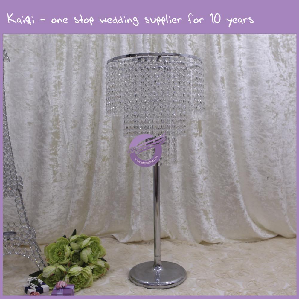 K wholesale tall acrylic centerpiece crystal wedding