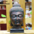 Wholesale buddha head statues polyresin figurine on hot selling