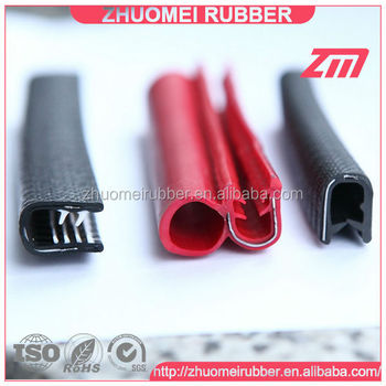 Flexible Sheet Metal Vinyl Molding Trim
