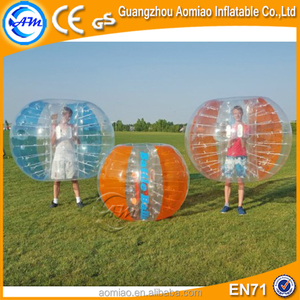 2017 Cheap price PVC and TPU inflatable bumping ball / bumper ball soccer for sale / body bumping ball