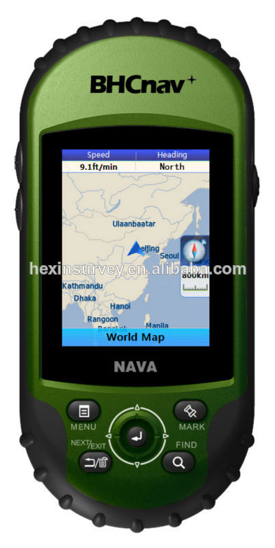 NAVA400 gps handheld support SD card and Customize map