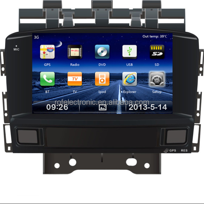 2din car gps navigation for OPEL ASTRA (2009 TO 2012),with GPS,IPOD,3G,DVR,PIP,PHONEBOOK