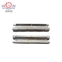 Heat resistant coal heating burner boiler spare parts flake type chain grate bar