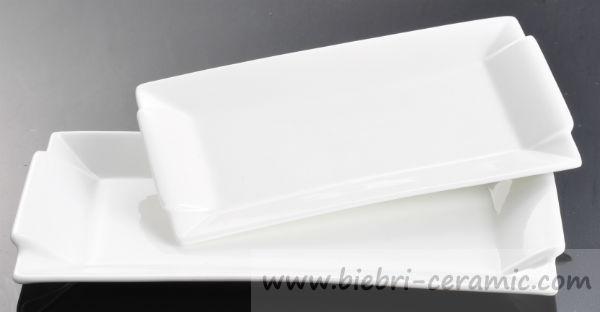 Rectangluar Shape New Mould Origin Custom Made Porcelain Plate For ...