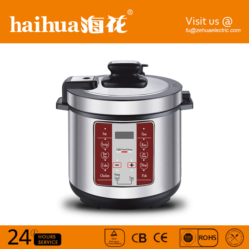 High quality long duration time rice digital electric pressure cooker