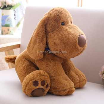 Giant large size plush dog animal stuffed toy for customized