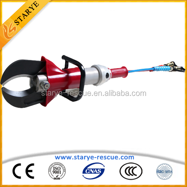 Cutting Force 390KN Hydraulic Rescue Cutter for Firefighting Hand Tools Hydraulic Rescue Cutter