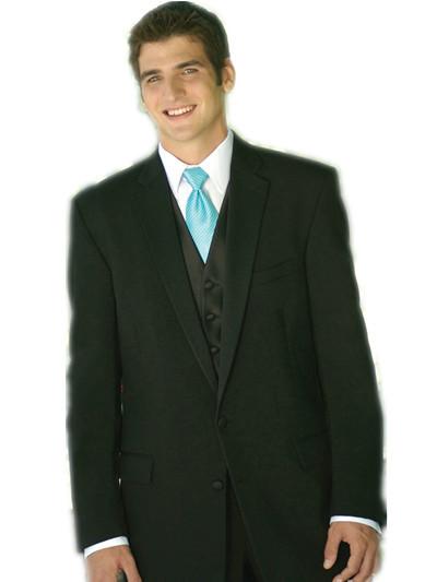 Buy Groom Suits Brief Polyester Black Affordable Men Suit Online ...