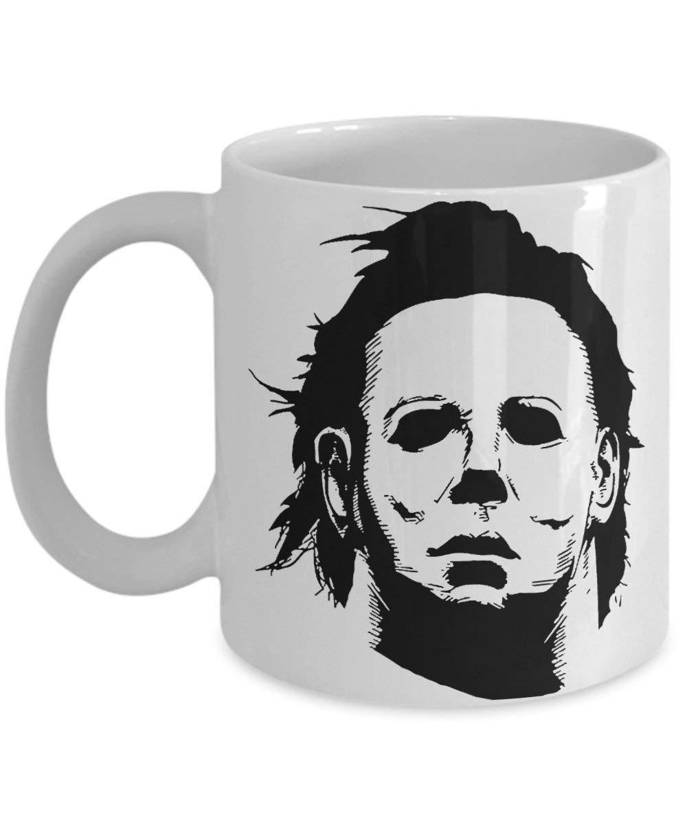 b0fd064c33aa6e Get Quotations · Best Michael Myers Coffee Mug Funny Michael Myers Mug Michael  Myers Gift Michael Myers Present Michael