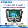 Touch screen car dvd for Honda Accord 7 accessories with gps navigation & car multimedia player (2004-2007)
