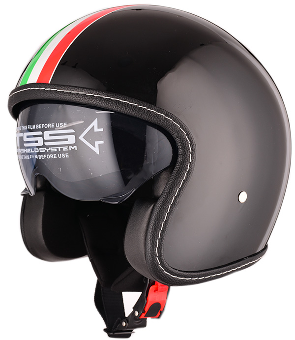 ECE approved ABS material custom open face motor VINTAGE helmet