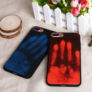 2018 Newest Protective Phone Case Heat sensitive case For iPhone X TPU PC Back Cover water proof phone case