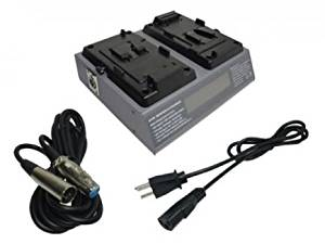 PowerSmart Battery Charger for Sony PMW-320K, PMW-320L, PMW-350K, PMW-350L, PMW-500, PMW-F5, PMW-F55, PMW-TD300