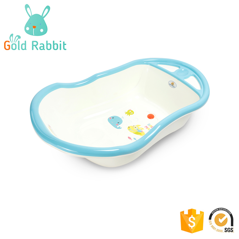 OEM factory promotion 1 person baby infant size portable plastic baby bath tub