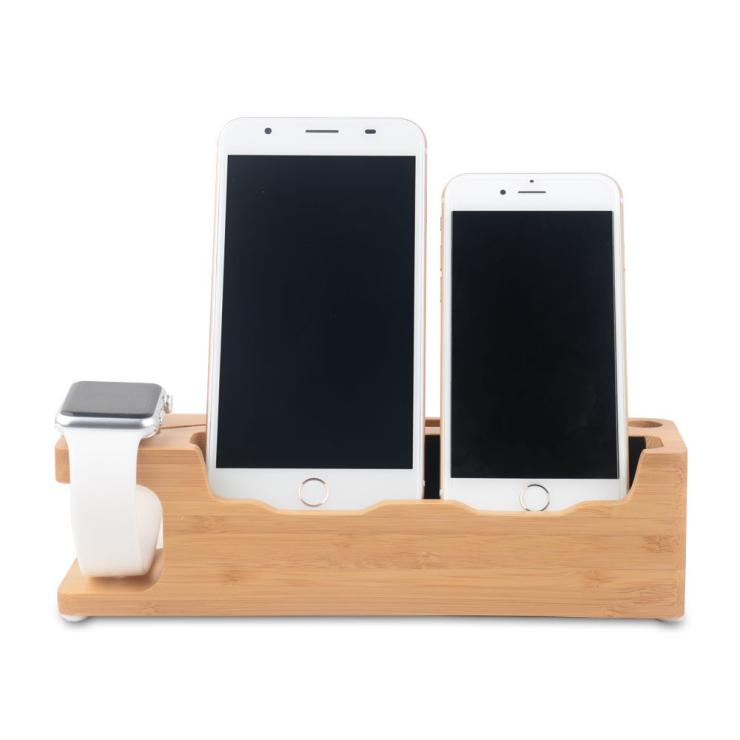 Bamboo mobile phone <strong>holder</strong> Lazy people <strong>ipad</strong> charger <strong>stand</strong>