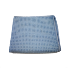 Microfiber Plain Waffle Weave Home And Car Cleaning Towel 35*30 cm