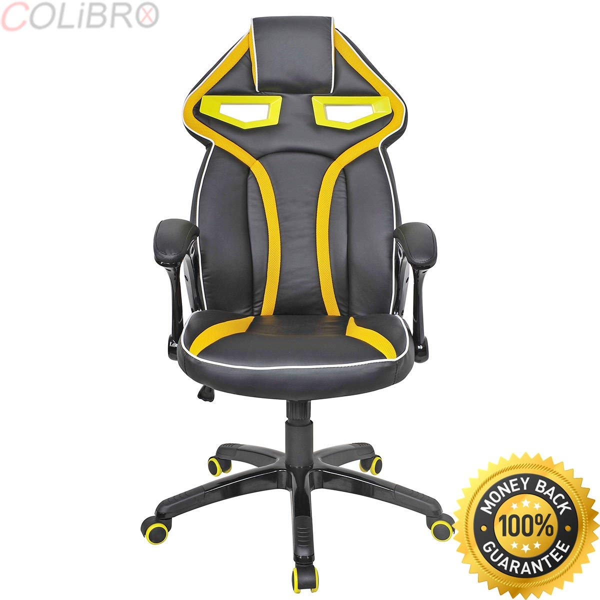 COLIBROX--Racing Bucket Seat Office Chair High Back Gaming Chair Desk Task Ergonomic New. racing bucket seat office chair high back gaming chair desk task ergonomic. amazon bucket seat gaming chair.