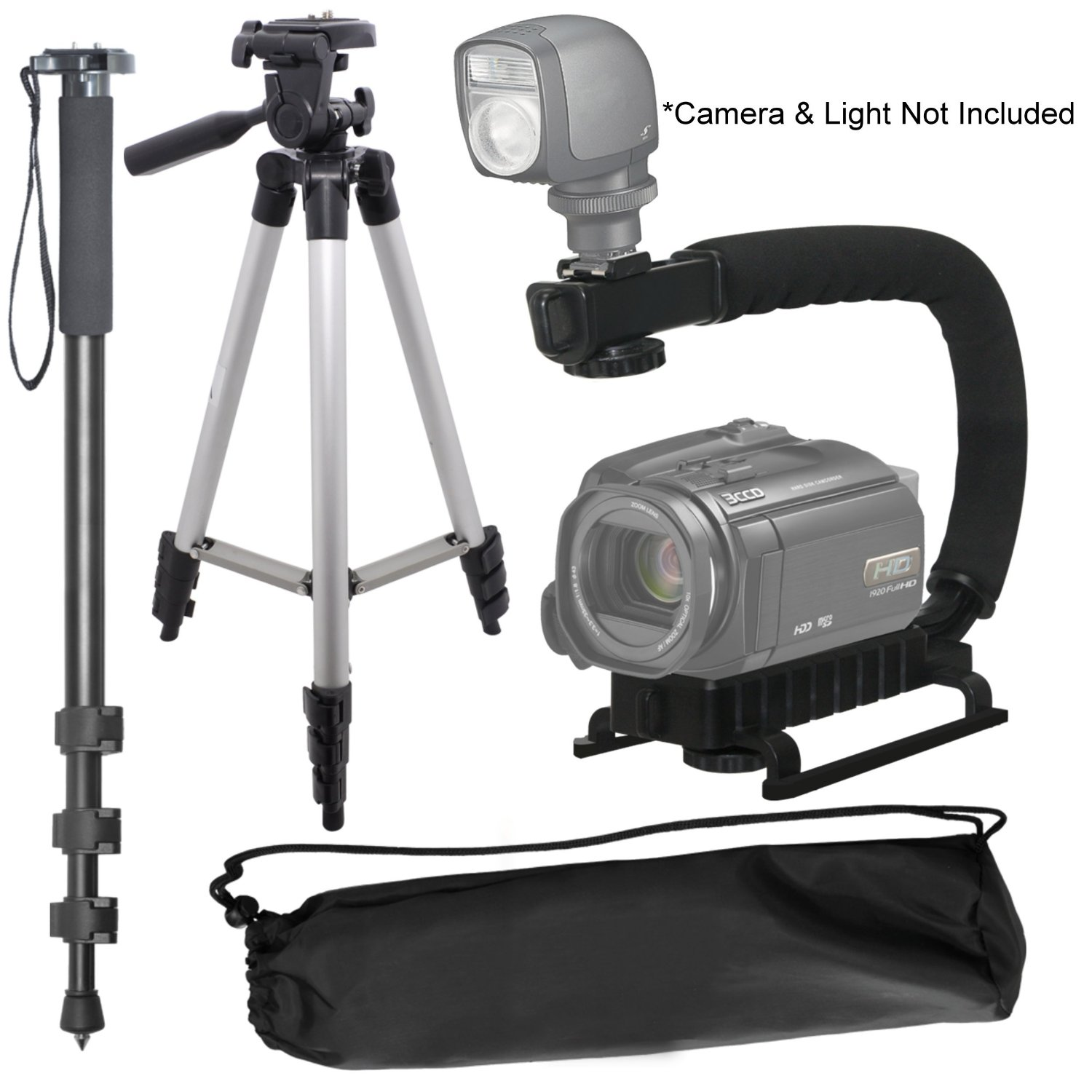 Compatible with Kodak Easy Share MAX SLR Camera DURAGADGET Professional Tough Versatile Sturdy Tripod with 3D Ball Head