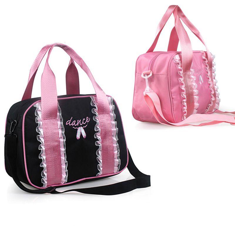 339a5847b4 Custom Logo Embroidered Ballet Dance Duffle Bag - Buy Girls Dance ...