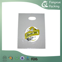 Poh Shopping Bag Fashion Logo Wholesales Elegant Flexo Printed Die Cut Plastic Bag