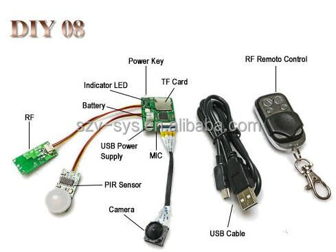 PCBA Solution Provider very very small hidden camera