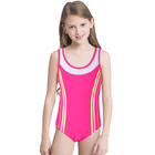Wholesale New design Kids girls One Piece Bikini Sport Swimsuit Children Swimwear
