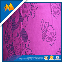 2017 Polyester Hot Sale Red African Swiss Voile Lace Fabric