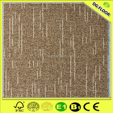 Anti-slip popular design 500*500 PP/Nylon bitumen backed carpet tiles