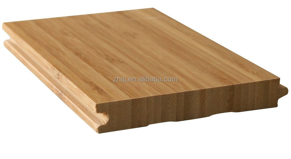 Eco friendly waterproof solid nature vertical bamboo for Eco bamboo flooring