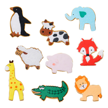 <span class=keywords><strong>In</strong></span> Acciaio Inox Leone Elefante Maiale Dolphin Cat Cow Dog Serie Animale Sveglio Cookie Cutters