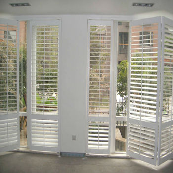 Plastic Window Shutters Interior Vinyl Plantation Shutters