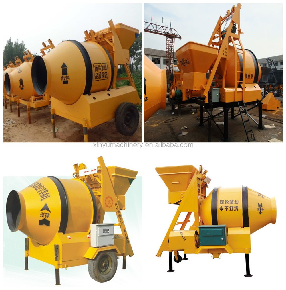 concrete mixing machine