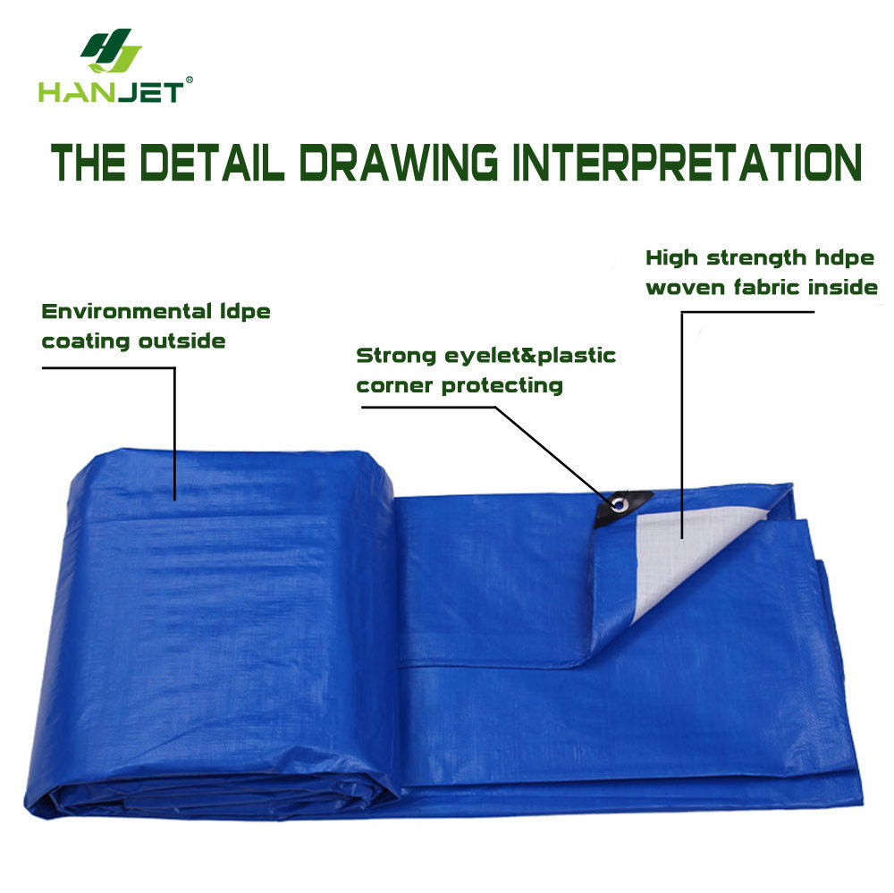 Pe Tarpaulin Plastic Sheet With All Specification Fire And