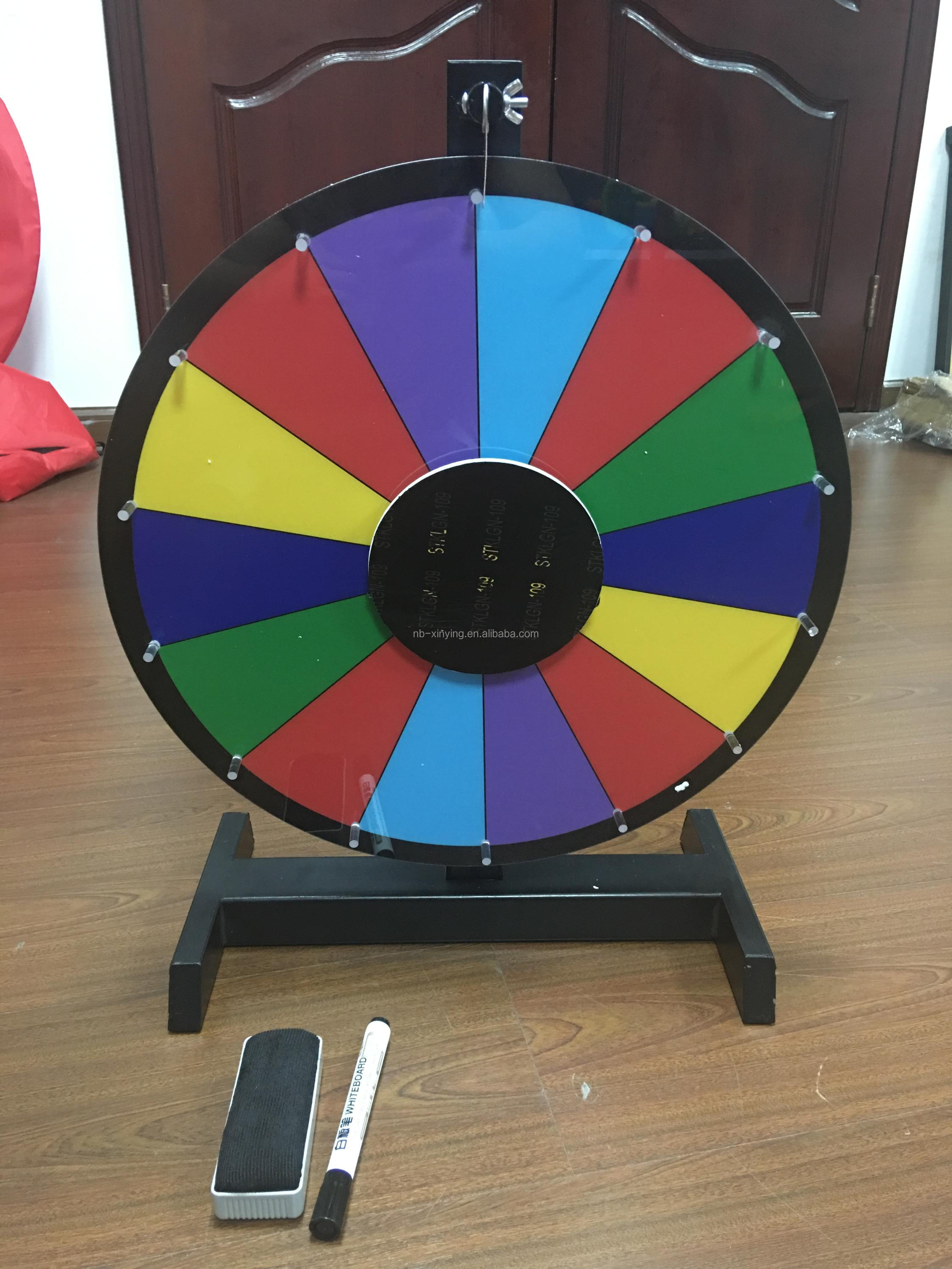 Abnehmbare Composable Tabletop Spinning Preis Rad Spin,Um Rad Spiel ...