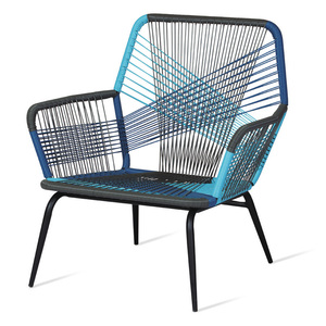 Plastic Rope or String Outdoor Lounge Chair