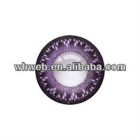 Korea gorgeous purple 009 captivating doll eye yearly crazy colored contact lens/magic cosmetic crazy contact lenses