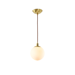 Nordic Pendant Chandelier Frosted Glass Lamp Ball Shape Hanging Light