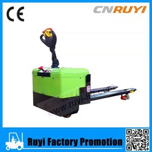 1T electric loading pallet truck with fold platform