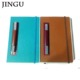 Jingu Stationery Oil edged Notebooks Custom Printing Wenzhou PU Leather