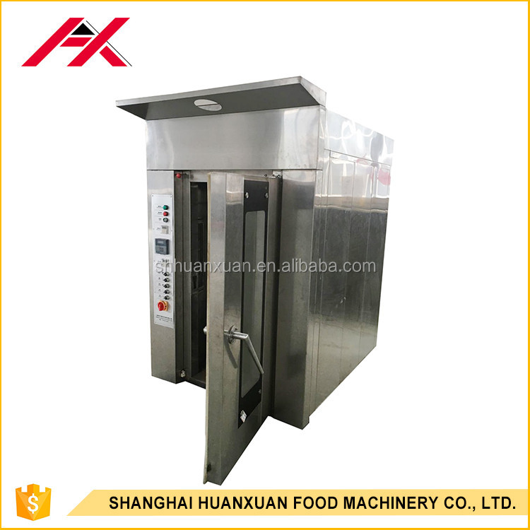 12 Trays Automatic Stainless Steel Rotary Oven