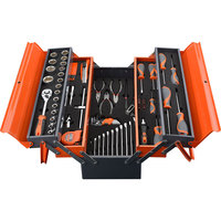 China Professional 77Pcs Top Quality Household CRV Auto Hand Tool Set with Case
